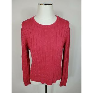 Brooks Brothers Long Sleeve Cotton Sweater Large